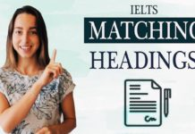 IELTS Reading band 9 - Matching Headings