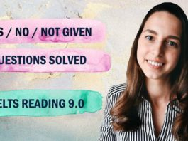 IELTS Reading band 9 - Yes,No,Not given
